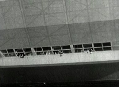 Passenger decks of Hindenburg