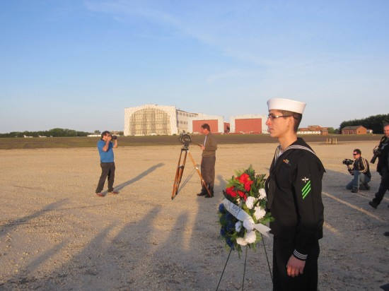 Sailor with Memorial Wreath