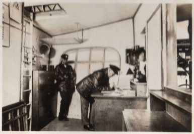 Chart Room of Graf Zeppelin