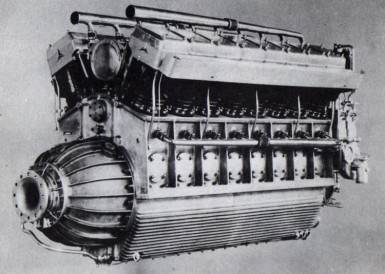 16-cylinder Daimler Airship Engine