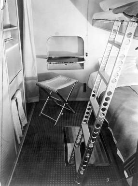Passenger Cabin aboard Hindenburg
